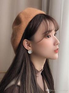 Berretto femminile autunno-inverno edizione coreana Dipartimento giapponese Baitie Leisure British cappello retrò studente berretto invernale alla moda berretto alla moda