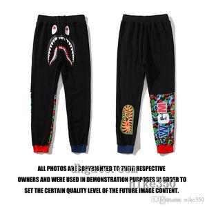 2020 de la moda de Nueva Ape Hombres Joggers Marca Pantalones masculinos pantalones casuales Hombres pantalón Gimnasio Muscle algodón aptitud del hip hop pantalones elásticos de entrenamiento