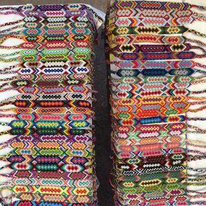 Alta qualità Vintage Bohemian 1.5CM Larghezza intrecciato corda di cotone polsino bracciale amicizia bracciali cavigliera gioielli estivi