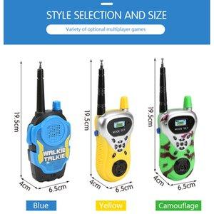 2Pcs Set Child Kids Walkie Talkie Parenting Game Mobile Phone Telephone Talking Toys for kids