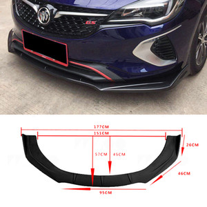 Universal Car Front Bumper Lip Chin Bumper Body Kits Splitter Diffuser For BMW Benz For VW audi Chevrolet Nissan Land Rover Civic 10th Gener