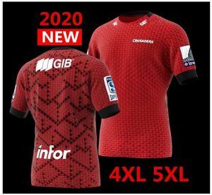 Le plus récent 2020 Nouvelle-Zélande Super Rugby Crusaders Maillots maillot domicile Ligue chemise CROISÉS rugby Jersey grande taille-5XL en vente