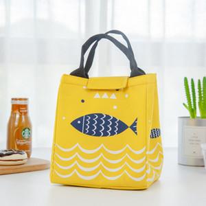 Kalınlaşmış çanta bento çanta dışında xford alüminyum yalıtımlı öğle yemeği çantası piknik ısı koruma izotermik çantalar