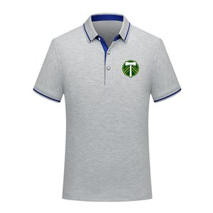 Portland Timbers Men Polo Shirt Summer Mens Business Casual Tops Men's sports Run Short Sleeve Polo Shirt training Polos Men's Polos