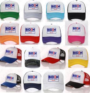 BIDEN President 2020 Ball Hat USA BIDEN Letters Baseball Caps Men Women Summer Mesh Patchwork Cap Outdoor Sun Hat Sports Peaked Hats D7610