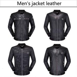 NOVO 2019 Homens de Moda de couro da motocicleta casacos casacos casaco de couro usado jaqueta de couro