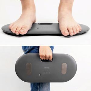 Escala de peso de grasa corporal digital inteligente Allocacoc