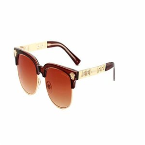 2166 2020 lüks-Yüksek Kalite Klasik Pilot Güneş Tasarımcı Marka Womens Güneş Gözlük Gözlük Metal Cam Lensler
