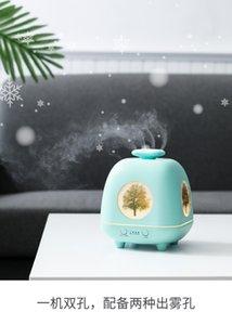 Cuatro estaciones espíritu aromaterapia máquina humidificador ultrasónico máquina sincronización automática esencial difusor aceite de la lámpara nueva aromaterapia