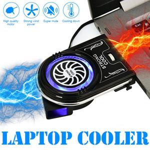 빠른 냉각 작업 USB 뜨거운 공기 추출기를 들어 팬 방열 고성능 냉각 팬의 새로운 노트북 PC 쿨러 배기