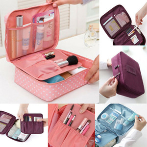 New Fashion Hot Popular Multifunction Makeup Case Women Travel Cosmetic Bag Pouch Toiletry Organizer Bag