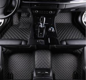 Per Fit Nissan Altima Maxima GT-R Kicks Rogue Sentra 2012-2020 lusso delle zampe auto personalizzato facile da pulire tappetini impermeabili