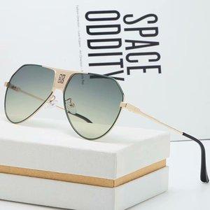 Wholesale new fashion designer sunglasses pilot simple frame popular avant-garde style top quality outdoor uv400 lens eyewea 1929r