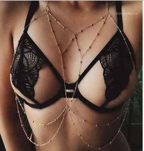 Chain Body Chain Sexy Alloy Beach Bikini Decoration Summer Swimwear Match Fashionable Vacation Holiday Tassel Womens