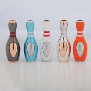 Novità del Bowling a forma di butano Alta Pressione Jet Lighter antivento sigaretta Strumenti fumatori Accendini NO Gas per la cucina da campeggio
