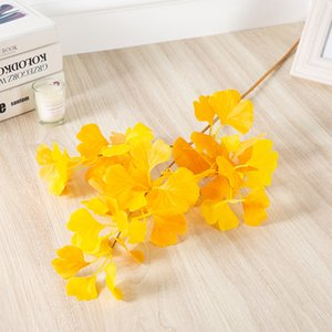 Single Branch Home Decor Ginkgo Flowers Leaf Simulation Creative Flower Exquisite Universal Beauty With High Quality 4 5df J1