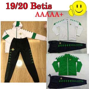 yeşil beyaz Erkekler Şapka ceket futbol 19 20 Kraliyet Betis futbol forması Juanmi MANDI maillot JOAQUIN futbol gerçek Betis 19-20 camiseta