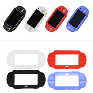 Caso de la cubierta protectora de caucho de silicona suave para Sony PlayStation PS Vita 2000