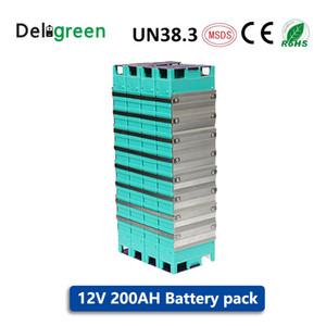 High Capacity 12V 200AH LIFEPO4 Batteries for EV Bicycles Best GBS LIFEPO4 Batteries for EV UPS Solar & Energy Storage GNE030