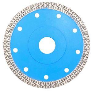 Saw súper delgada lámina del diamante Herramienta eléctrica Accesorios Wet agresivo disco para corte de azulejos de porcelana amoladora angular Circular
