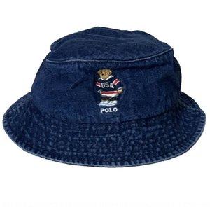 폴로 버킷 버킷 볼 어부 캡 리터 어부의 모자 남성 모자 남성 모자 어부의 곰 데님 컬러