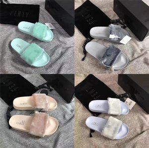 Mens Slippers Leather H Summer Shoes 2020 Flat Beach Slippers Male Black White Shoes Ka1151 Y200107#514#204