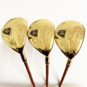 Mens Golf Hybrid Wood Maruman Majesty Golf Wood Clubs UF2 / 16 UF3 / 19 UF4 / 22 UF5 / 25 Graphite Golf Shaft Headcover L Flex