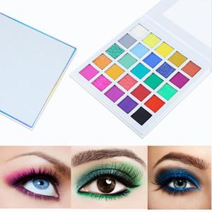 25 palette di colori per ombretti Trucco opaco e brillante Ombretto altamente pigmentato