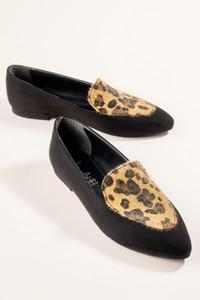 Bambi Noir Leopard Women « S Mocassins H0516444465