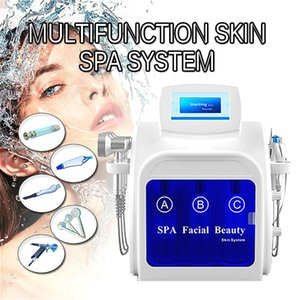 2020 Hottest 5 In 1 Dermabrasion Peel Facial Machine Microdermabrasion Facial Cooling Beauty Machine Home Use Salon Use Dhl Free Shipping
