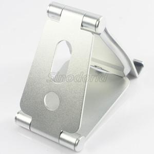 Universal mini portáteis da liga de alumínio móveis titulares de carregamento do telefone preguiçoso Mounts metal telefones celulares suporte mais barato DHL