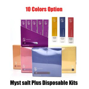 100% Original Myst Salt Plus Disposable Device Kit 650mAh Battery 1000+Puffs 3.2ml Empty Pod Cartridge Vape Pen Genuine Vs Posh Puff