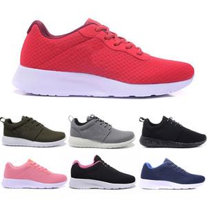 Nike Air Roshe Rabatt Triple Black Tanjun Männer Frauen Laufschuhe Weiß Grau Rot Rosa Breathable London Olympic Sports Turnschuhe Trainer Männer Chaussures