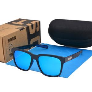 Marque Designer hommes Polarized Sunglasses femmes Vintage Driving Mirror Homme Lunettes de soleil Goggle Oculos De Sol avec boîte au détail et cas