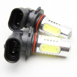 Une paire d'antibrouillard 9006 HB4 à LED avec ampoules CREE, ampoule blanche à DEL pour auto