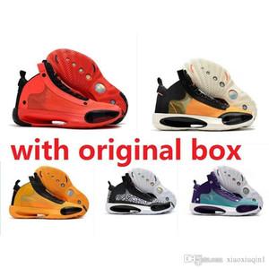 Günstige Luft Jumpman 34 Männer Basketball-Schuh-Retro- aj34 echte aj 34 Oreo zum Verkauf lebron 17 KD 16 maximale Turnschuhe Stiefel mit ursprünglichem Kasten 7-12