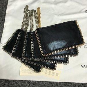 kadın moda cebinde toptan Stella altın gümüş zincir cep telefonu çantaları bayan purseVA7 patlama