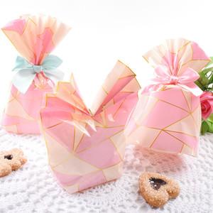 50pcs Plätzchen Beuter Weihnachten Hochzeit Geburtstag Verlobungsferien Favor Wrapping Geschenk Snack-Beutel