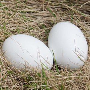 1pcs DIY emulación de huevos de madera Los juegos de simulación de cocina Huevos Alimentos pintado Doodle Eggs Juego Broma regalos creativos para los niños
