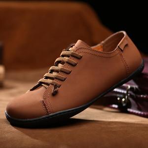 Masorini Hommes Mocassins Chaussures D'été Plat En Cuir Véritable Barefoot Casual Chaussures Homme Solide Sneakers Printemps Chaussures 2019 XX-495-4