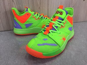 2019 New Paul Basketball Shoes George PG 3 3S PALMDALE III P.GEORGE Cheap PG3 Starry Blue Orange Red Black Sports Sneakers