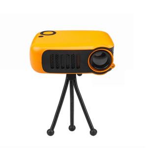 A2000 فيديو بروجكتور 1080P قرار LED الصفحة الرئيسية سينما مسرح العارض الأصلية حصول على هوم سينما فيلم الروبوت العارض 1PCS