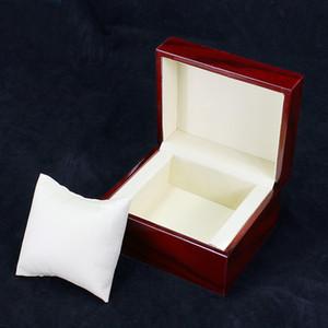 Marque emballage design sur mesure Logo cas Cadeau Bijoux Bracelet Bracelet Affichage boîte de montre Caisse De Stockage Oreiller Spot fourniture