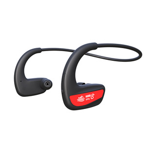 Foreign trade hot style professional 8 - level waterproof depth ultra - long standby swimming fitness headset bluetooth headset