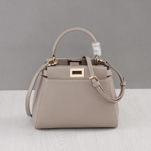Последний стиль кожаные сумки из натуральной кожи для женщин вскользь Марка Сумка высокого качества Замок Crossbody Сумки Totes Bolsas Feminina