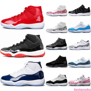 11 Pin Navy Snakeskin 11s Concord 45 Men Women Basketball Shoes Bred Space Jam Gamma Blue Mens Athletic Sport Walking Hiking Sneakers