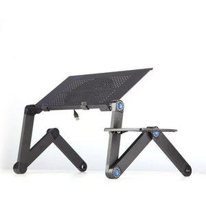 Алюминиевый сплав для ноутбука Стол Раскладной портативный ноутбук стол ноутбука Стол стол Подставка Диван-кровать Tray Book Holder