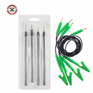 Probe Pen ECU strumento BDM sonda 4pcs / set con l'adattatore di programmazione verde Wire Cavi clip ECU Supporta LED BDM Potenza