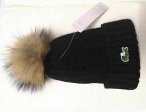 Kış Ponpon Basit Çizgili Şapka İçin Çocuk Knited Beanie Sıcak Bebek Şapka için Marka Çocuk Şapka Kız Erkek Cap