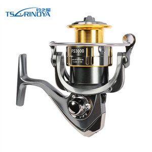 TSURINOYA FS3000 Spining Reel 9 + 1BB 5.2: 1 Metall Spool Aluminum Handle De Pescaria Fishing Rock-Pescaria Reel Molinete Pesca
